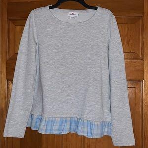 Vineyard Vines Women's M Sweatshirt with Ruffle